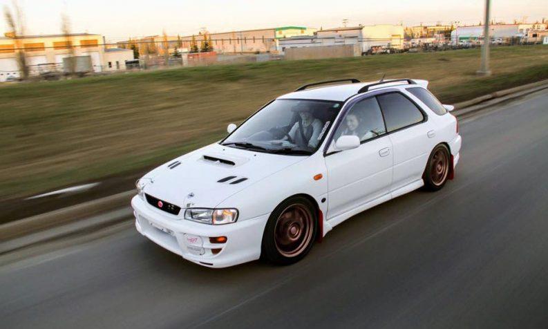 1999 Subaru Impreza WRX STI Wagon GF8